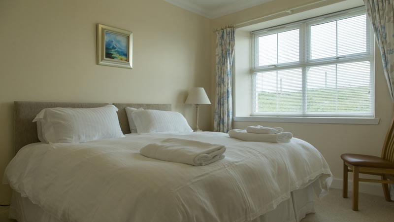 Twin room at Atlantic View Cottage